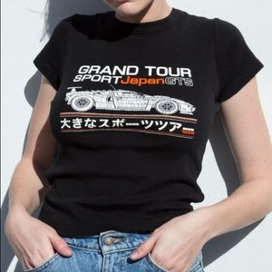 Brandy melville japan grand tour race car shirt t